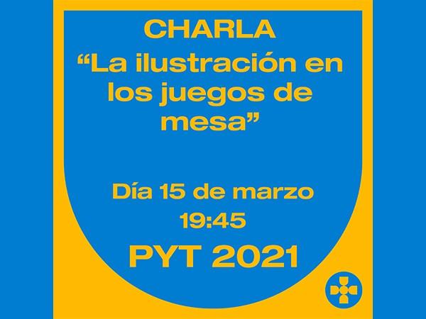 Charla PyT – La ilustración en los juegos de mesa